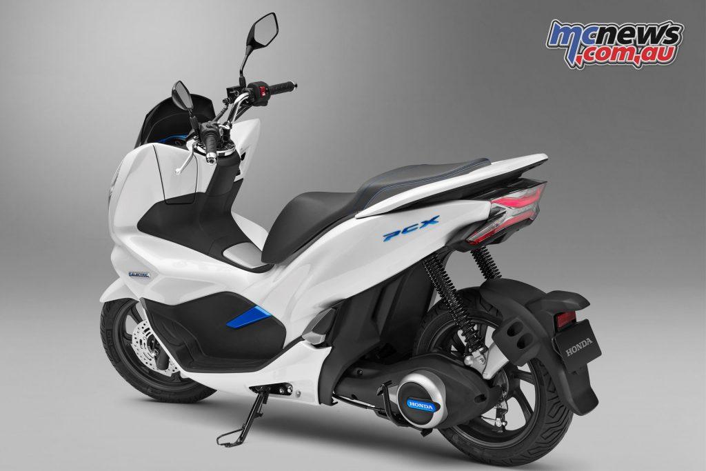 The Honda PCX Electric