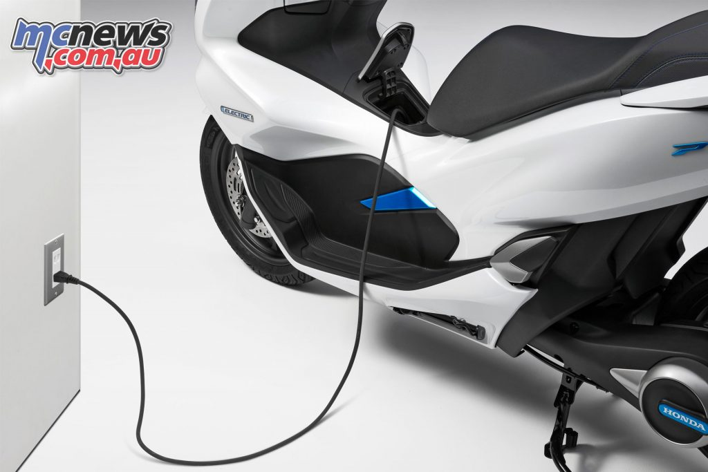 The PCX Electric or the battery packs will be easily chargeable, ideal for a commuter machine