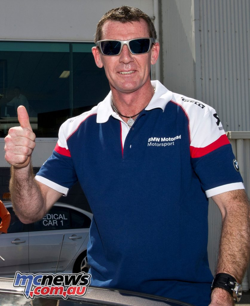 Troy Corser - Image by Graeme Brown