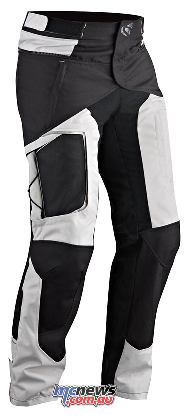 The Ixon Cross Air Pants also feature thigh vents