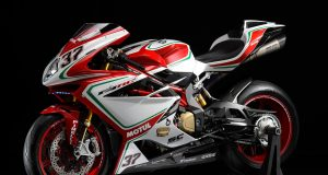 MV Agusta F4 RC 212 horsepower   Brembo GP stoppers Ohlins NIX30 forks and TTX36 shock Only 250 to be made