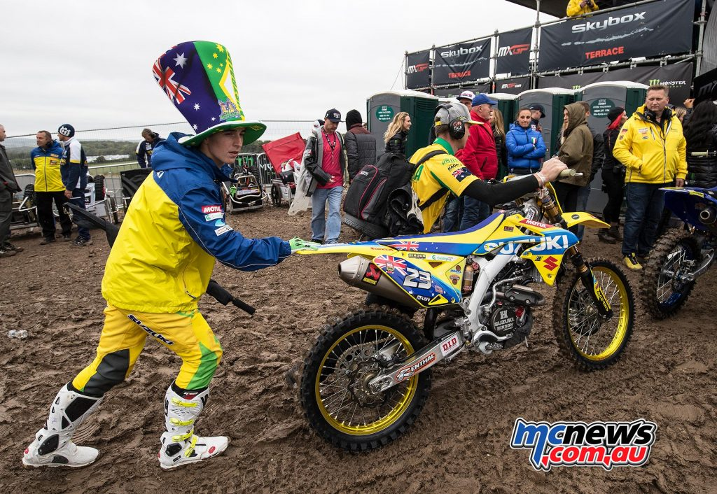 Hunter Lawrence not only took the MX2 overall but was also awarded the Ricky Carmichael Award for the best young rider.