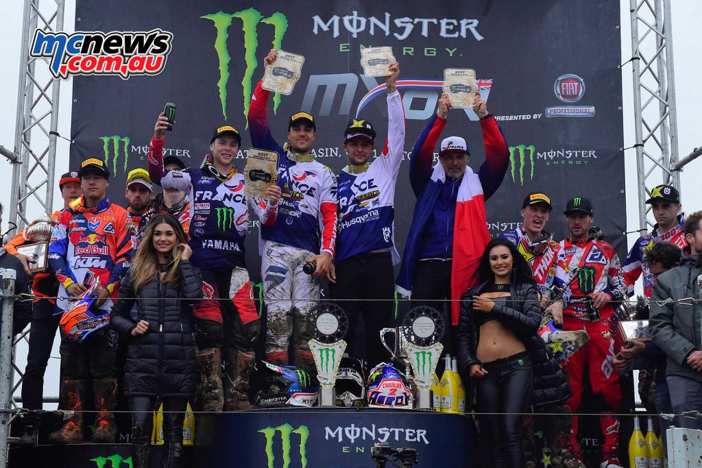 Results – FIM Motocross of Nations 2017 France 20 The Netherlands 31 Great Britain 32