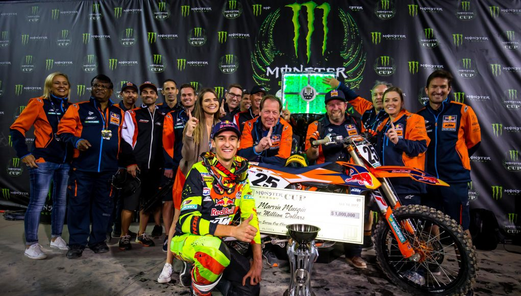 Marvin Musquin takes the win - Image by Rich Shepherd