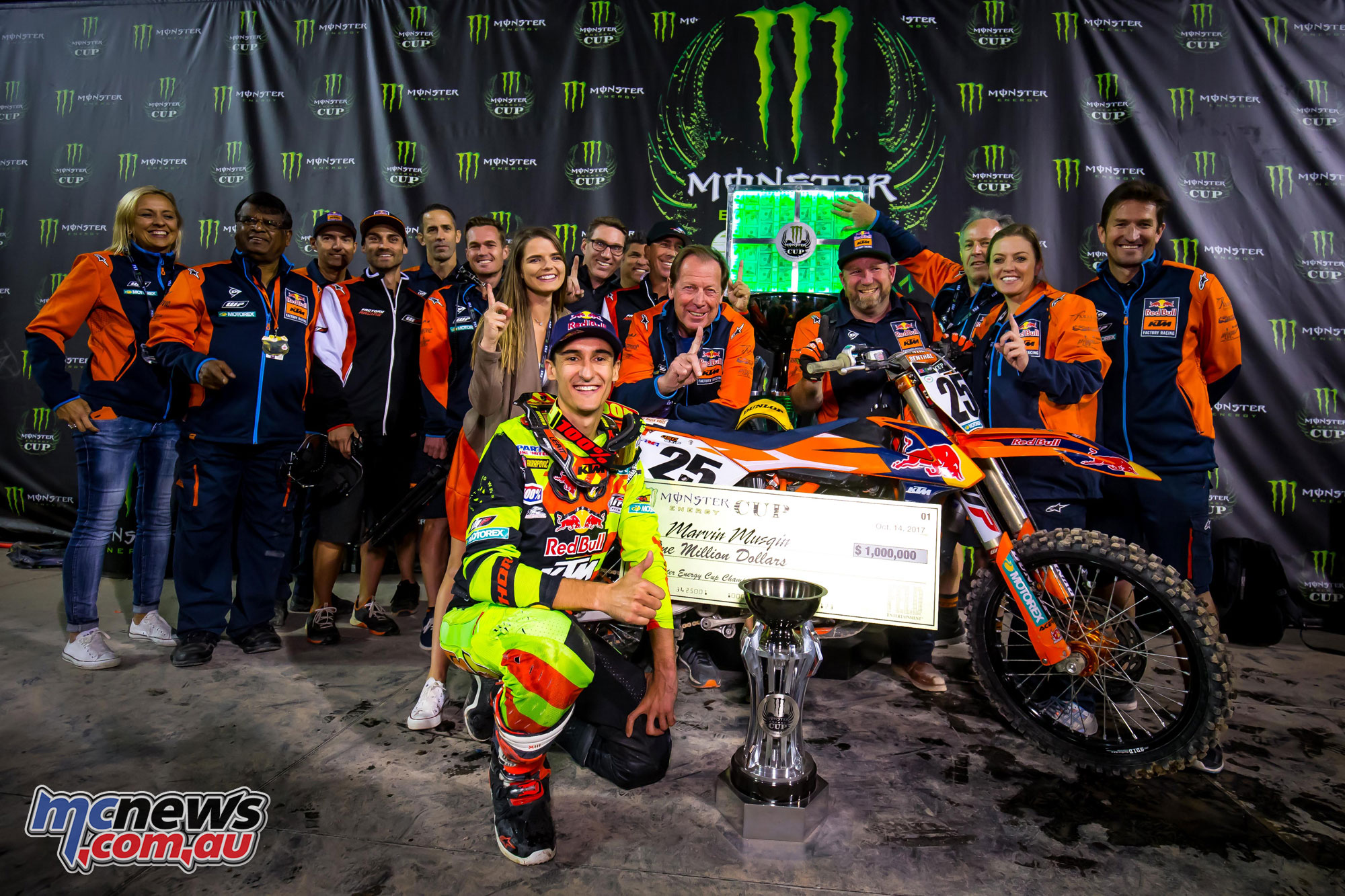 Musquin takes million dollar payday in Las Vegas | MCNews com au