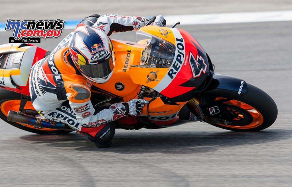 Andrea Dovizioso, Honda RC212V.