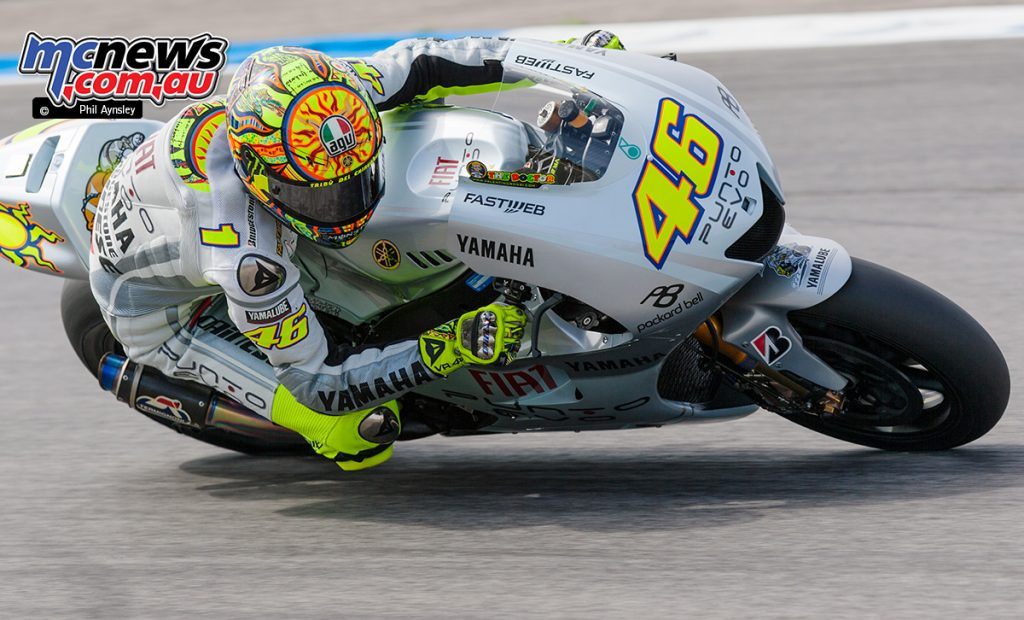 Valentino Rossi, Yamaha YZR-M1.