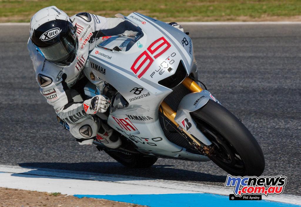 Jorge Lorenzo, Yamaha YZR-M1.