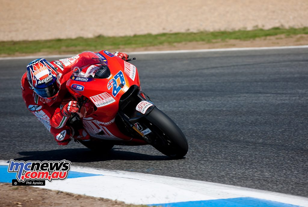 Casey Stoner, Ducati GP9.