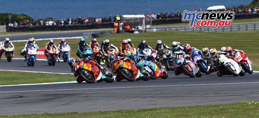 Moto2 2017 - Phillip Island - Image by AJRN