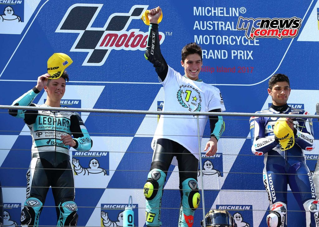Joan Mir takes victory number nine of the year and seals the 2017 Moto2 World Championship