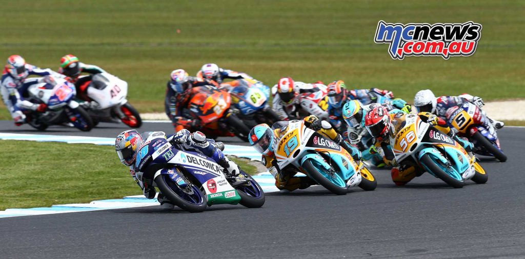 Moto3 2017 - Phillip Island - Image by AJRn