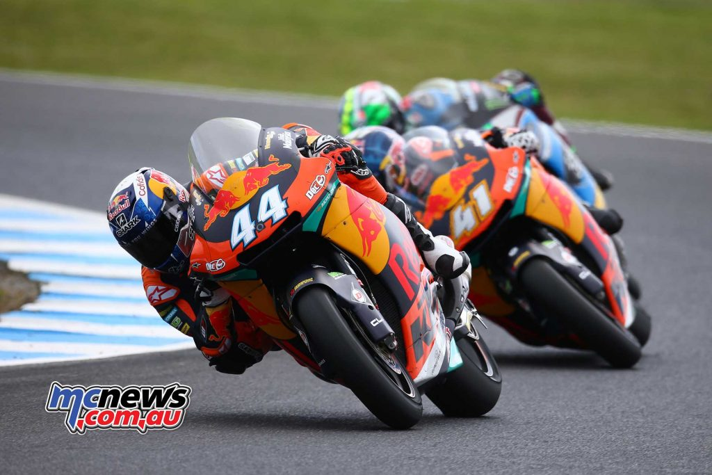 Migeul Oliveira - Moto2 2017 - Phillip Island - Image by AJRN