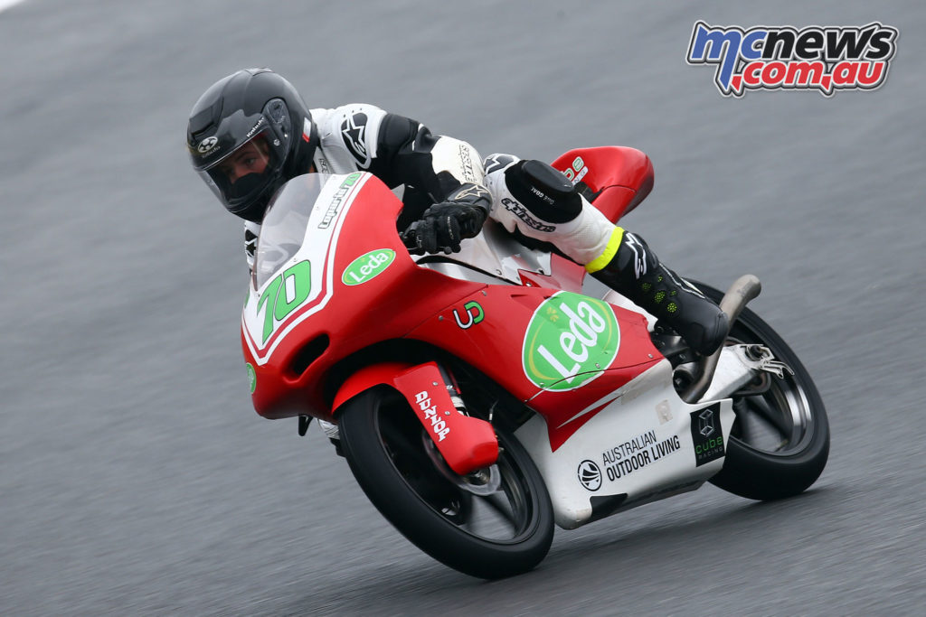 Tom Toparis - Moto3 Qualifying Practice - Motegi - Image by Andrew Northcott