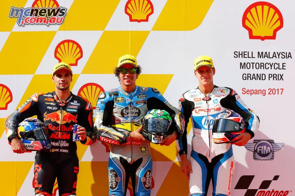 Moto2 Qualifying - Sepang - Front Row