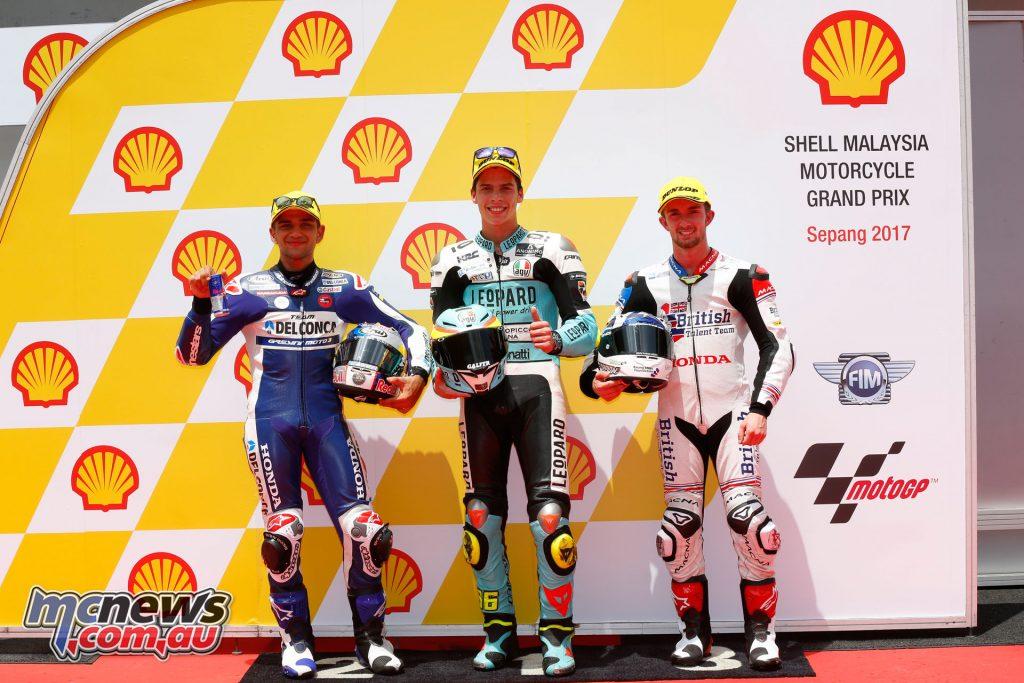 Moto3 Qualifying - Sepang - Front Row