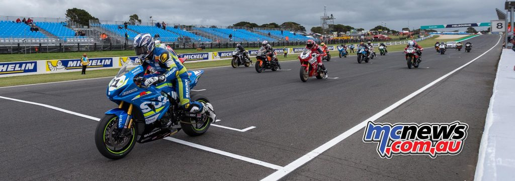 ASBK 2018 will kick off at Phillip Island in conjunction with the WorldSBK event, February 22-25 - Image by TBG