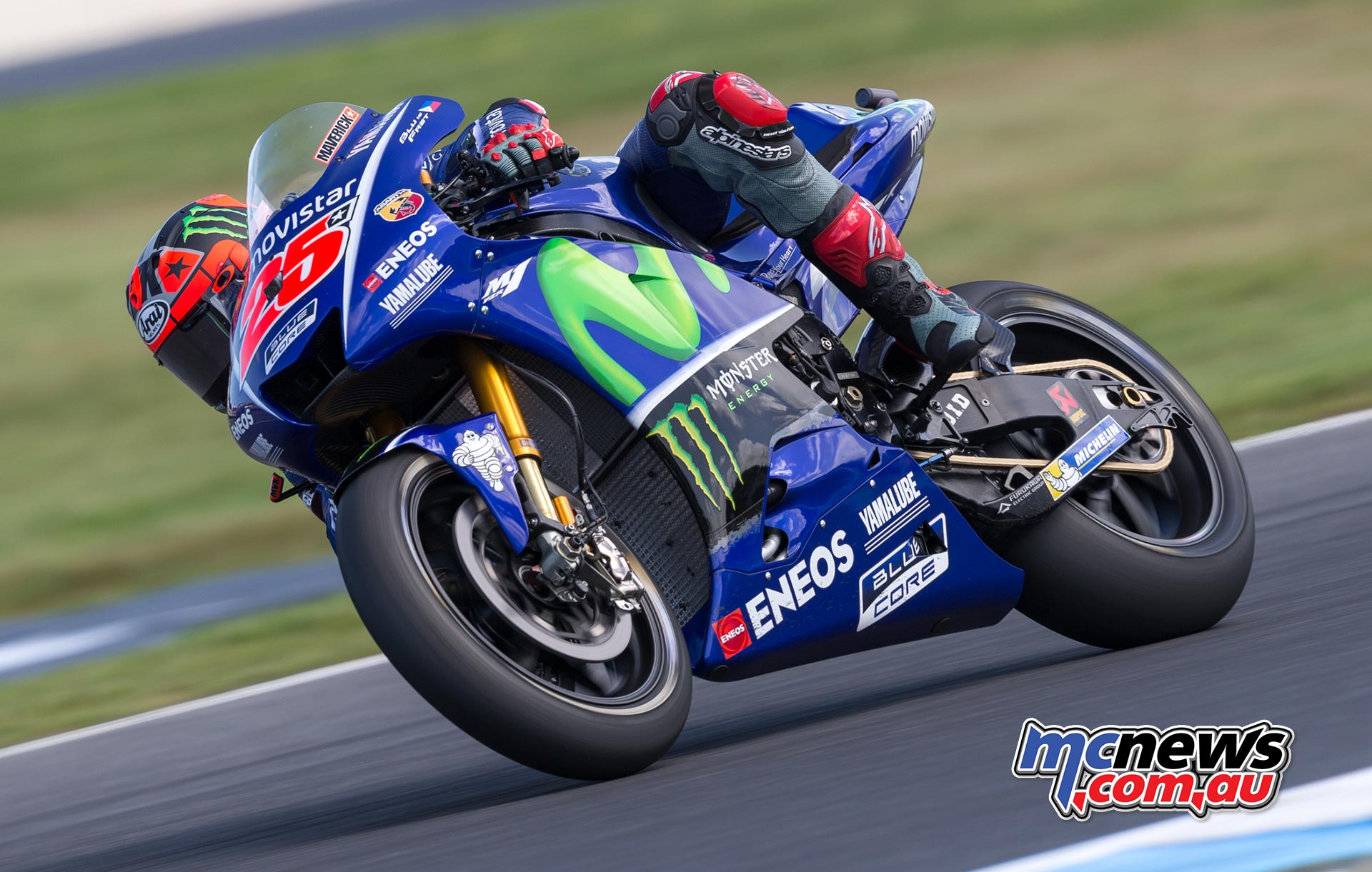 Maverick Vinales is looking to end his season on high