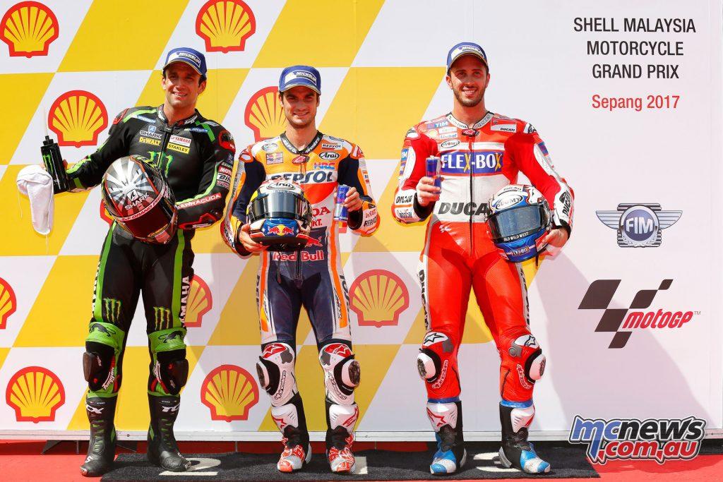 MotoGP Qualifying - Sepang - Front Row