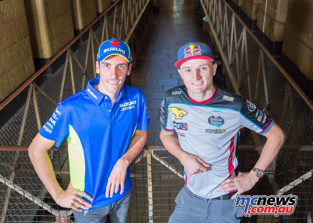 Jack Miller visited the Old Melbourne Gaol today with Alex Rins