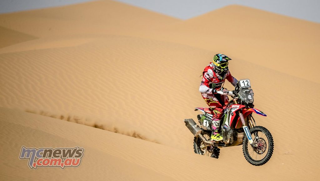 Kevin Benavides took second for the Morocco rally and in the overall Cross Country Rallies Championship