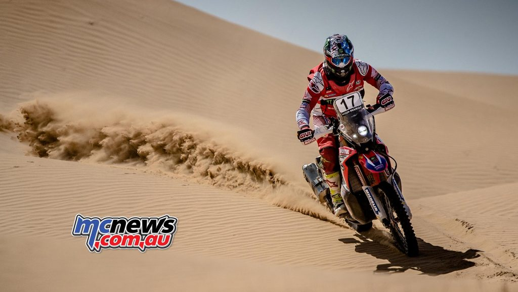 Ricky Brabec took second in in the stage, finishing the Morocco Rally in third overall