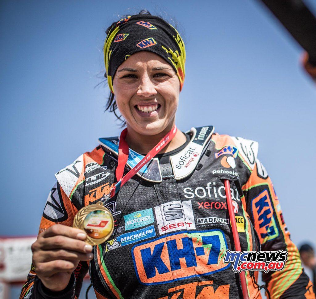 KTM's Laia Sanz