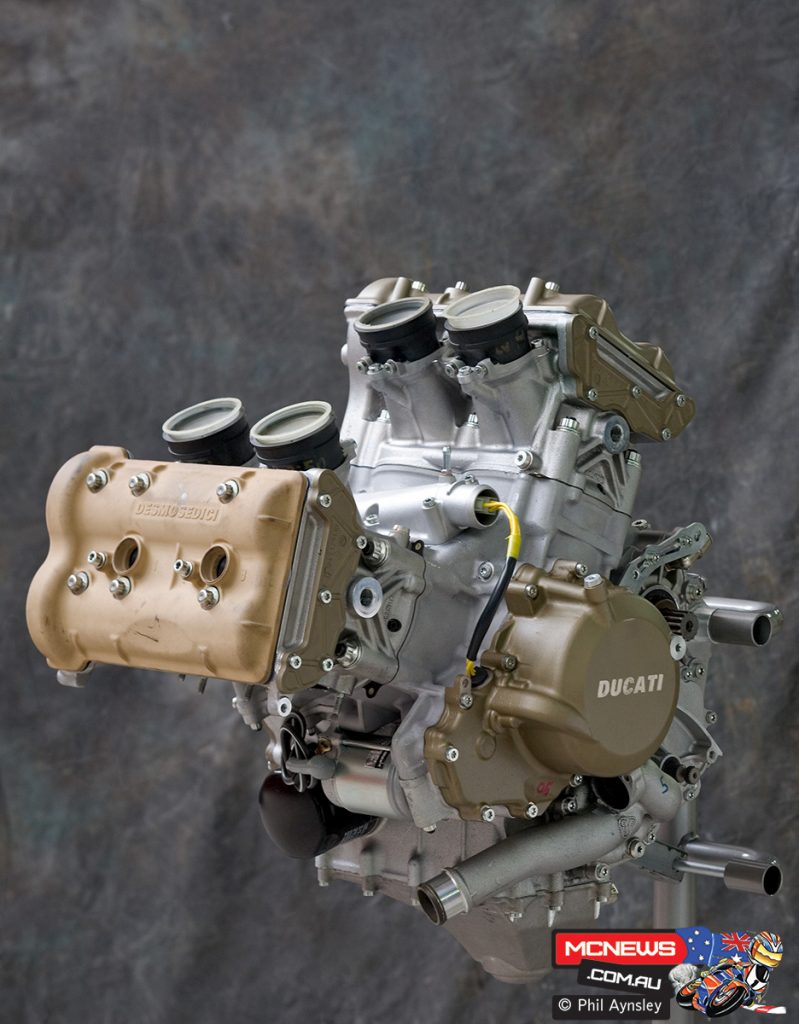 Ducati's modern V4s started with their MotoGP development in 2001