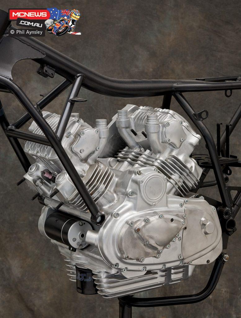 1981 saw a more Pantah-like motor, based on two 500cc Pantahs