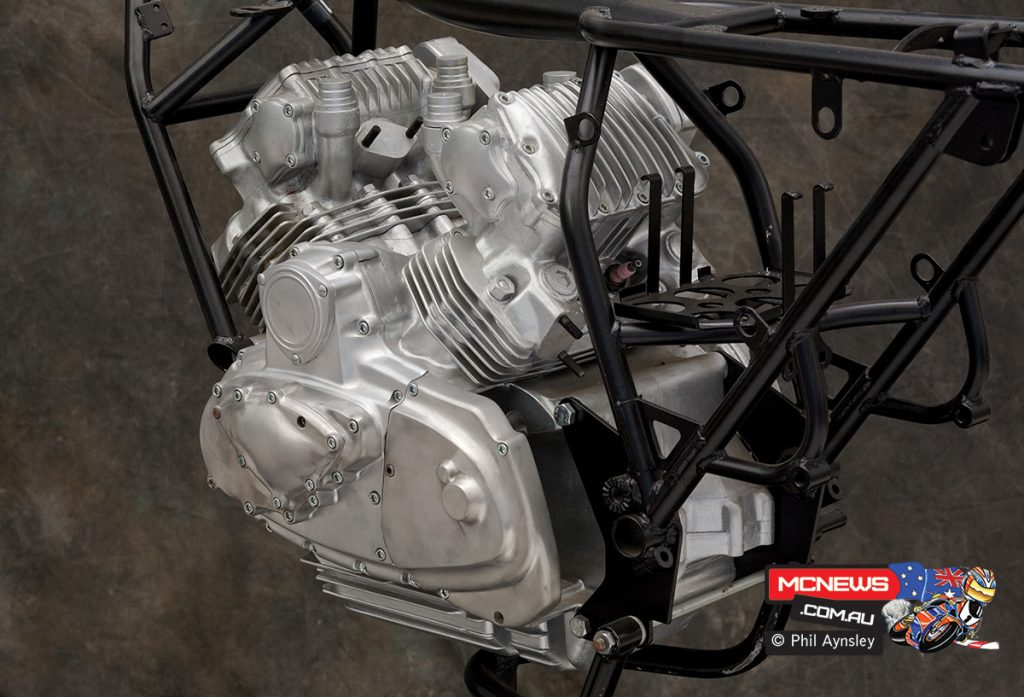 The result was an ultra-compact 994cc SOHC design