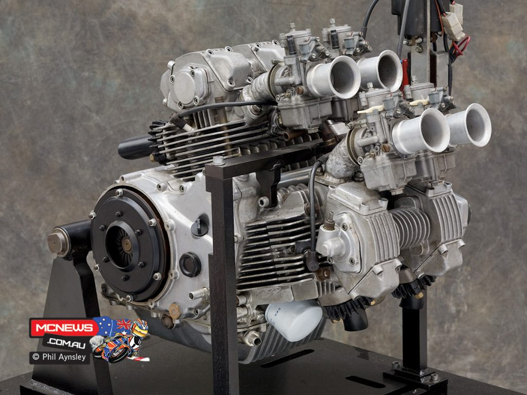 The cassette style five-speed gearbox fitted was a first for Ducati