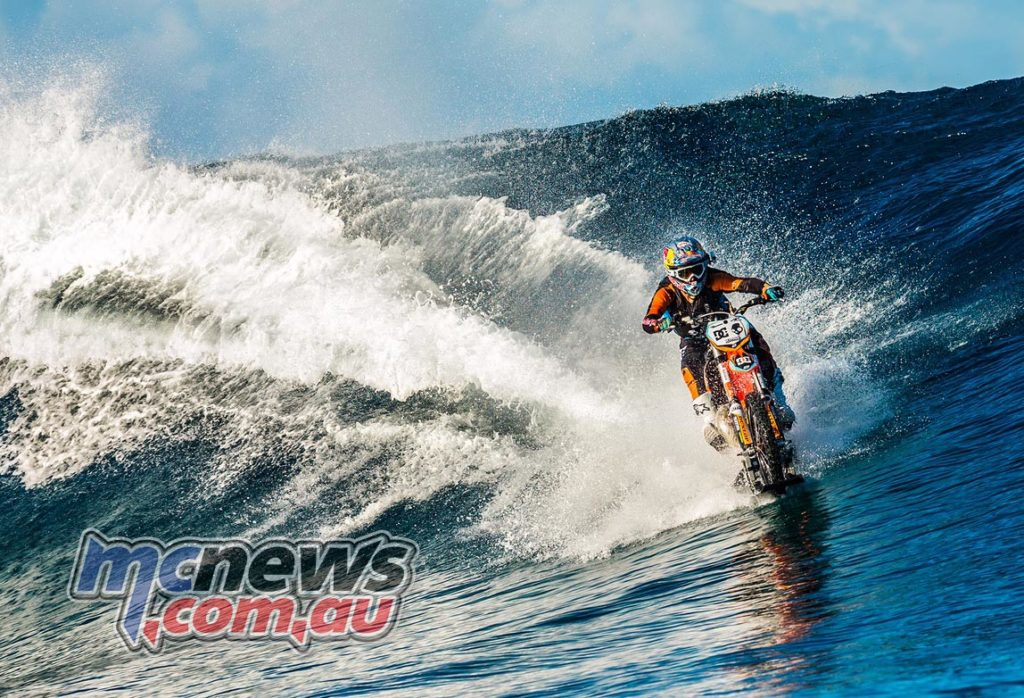 Robbie Maddison to ride motorcycle on Sydney Harbour at Sydney Motorcycle Show