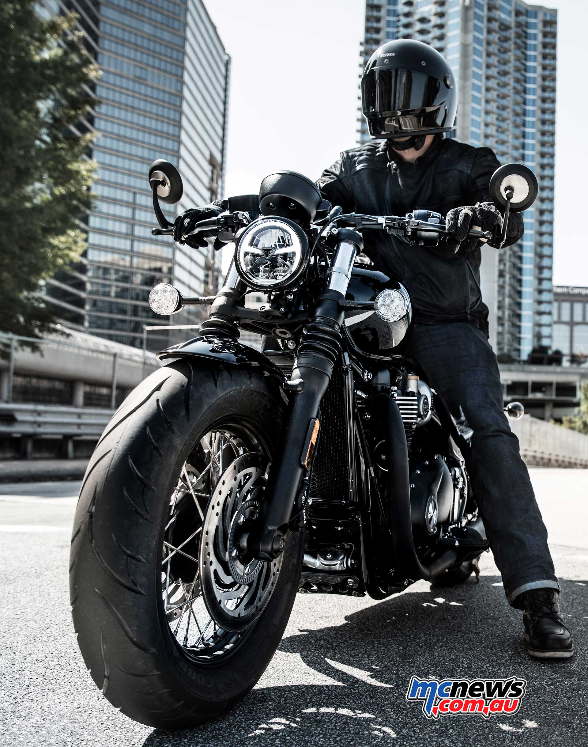 Triumph Bobber Black Fatter And Blacker For 2018 Motorcycle News Sport And Reviews