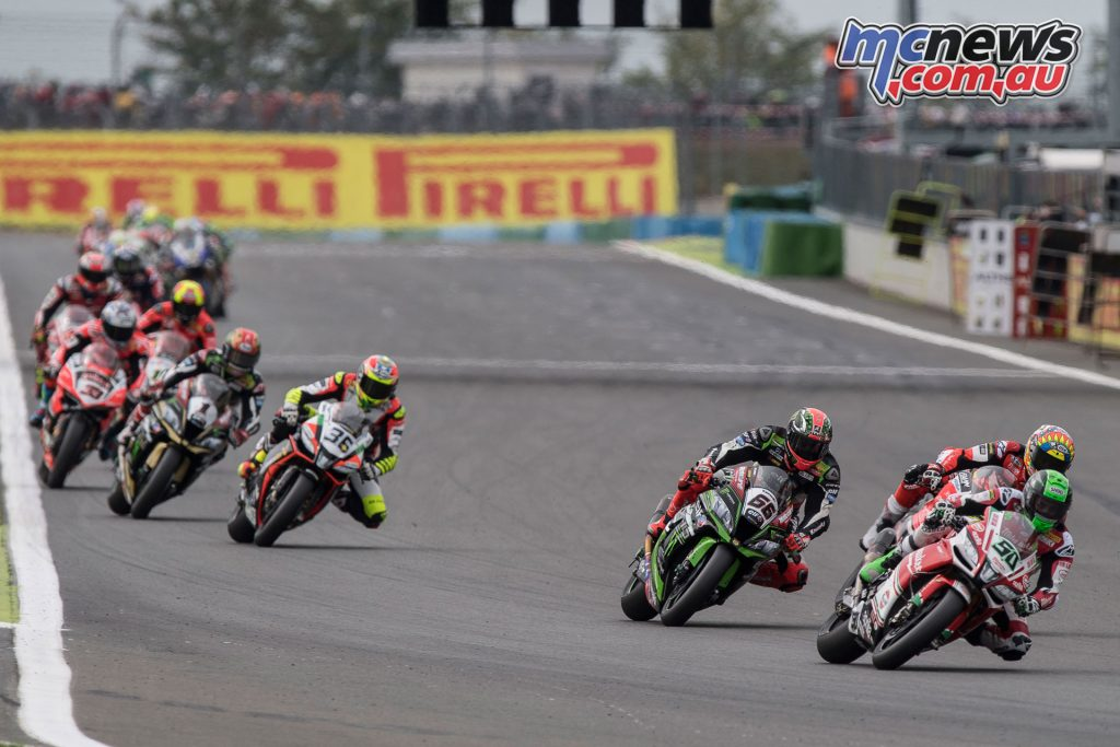 World Superbike field - Magny-Cours