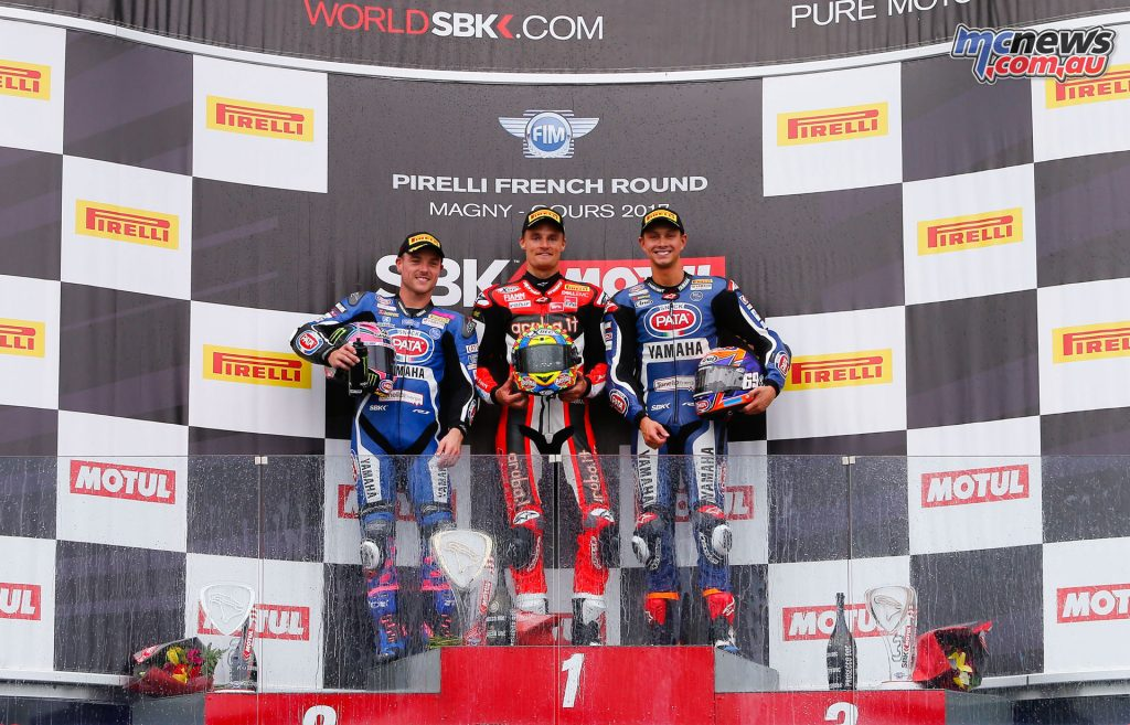 Superbike Podium - Race 2