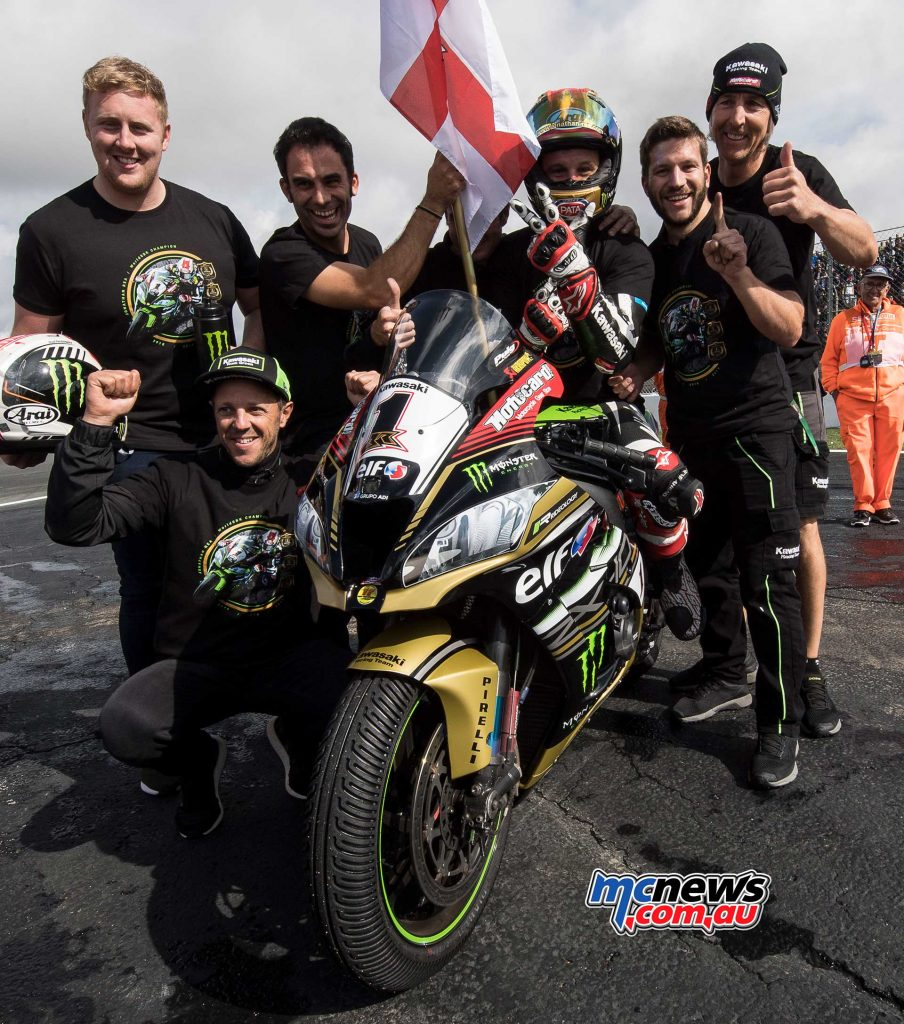 Jonathan Rea has already tied up the title
