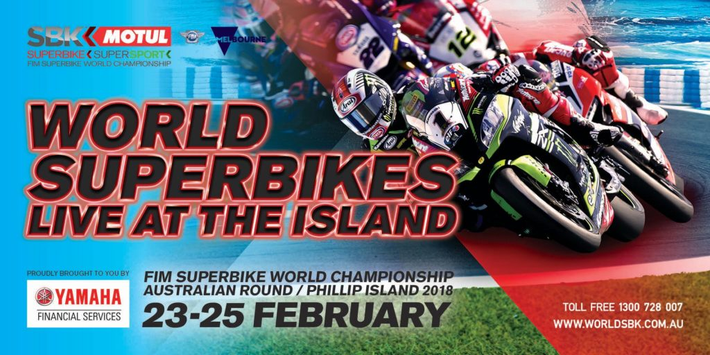 World Superbike hits Phillip Island - 23-25 February, 2018