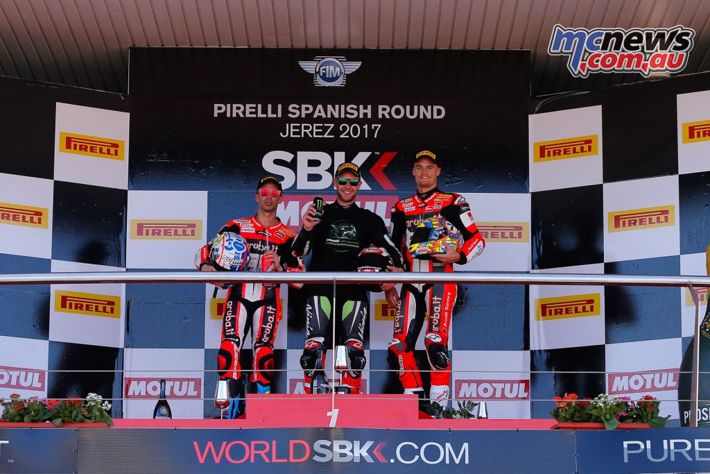 WorldSBK at Jerez - Race 2