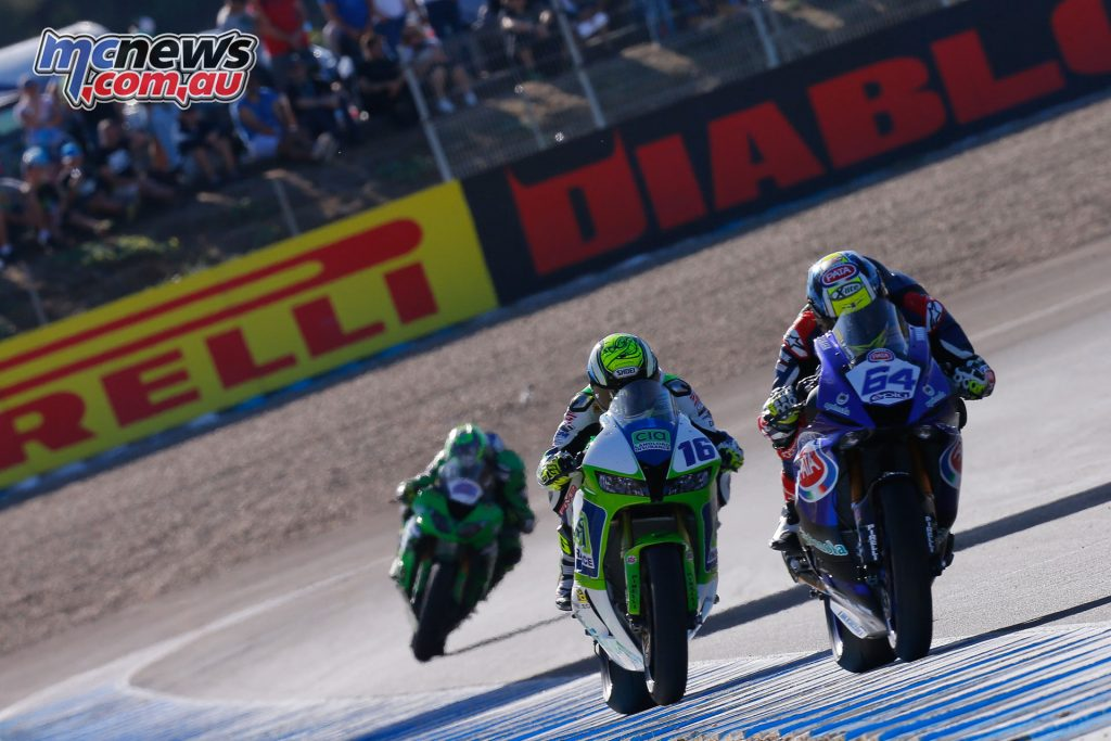 Caricasulo in the lead at Jerez