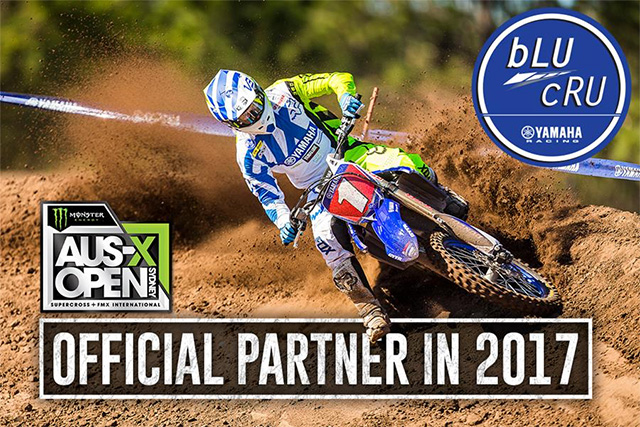 Yamaha backs the 2017 AUS-X Open