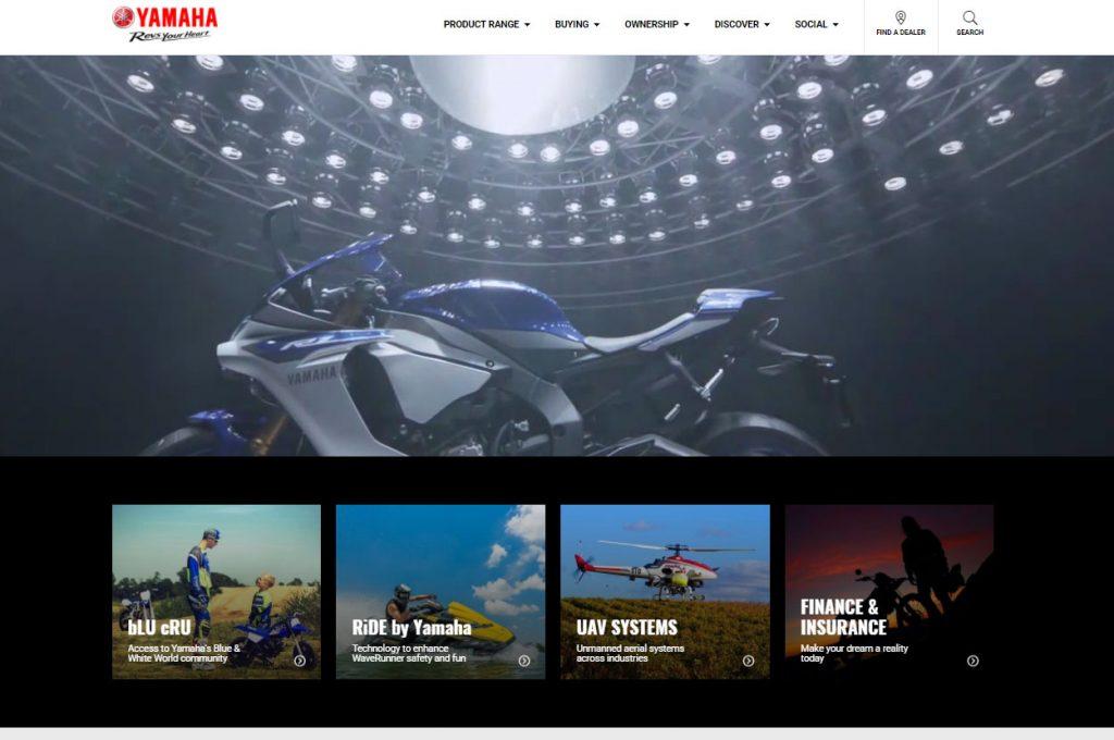 YMA introduce their new website design