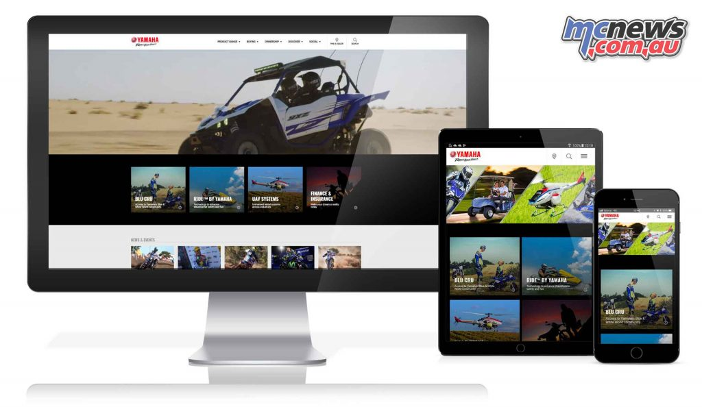 Yamaha Motor Australia launches their all new website