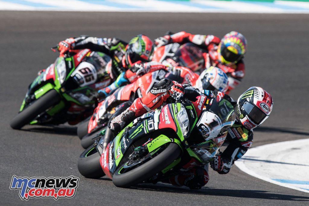Rea leads at Jerez WSBK Race 1