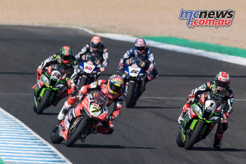 World Superbikes - Jerez