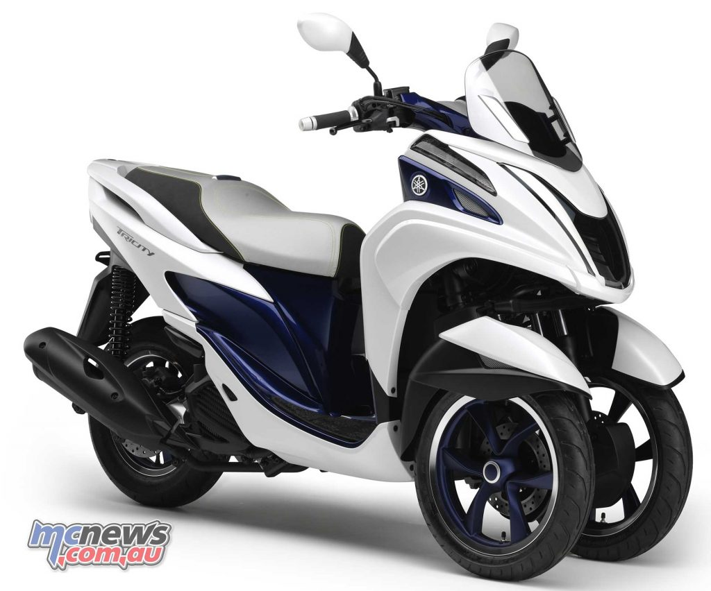 Yamaha's 125cc Tricity is a great little commuter but clearly the MTX850 Niken is a whole different kettle of fish