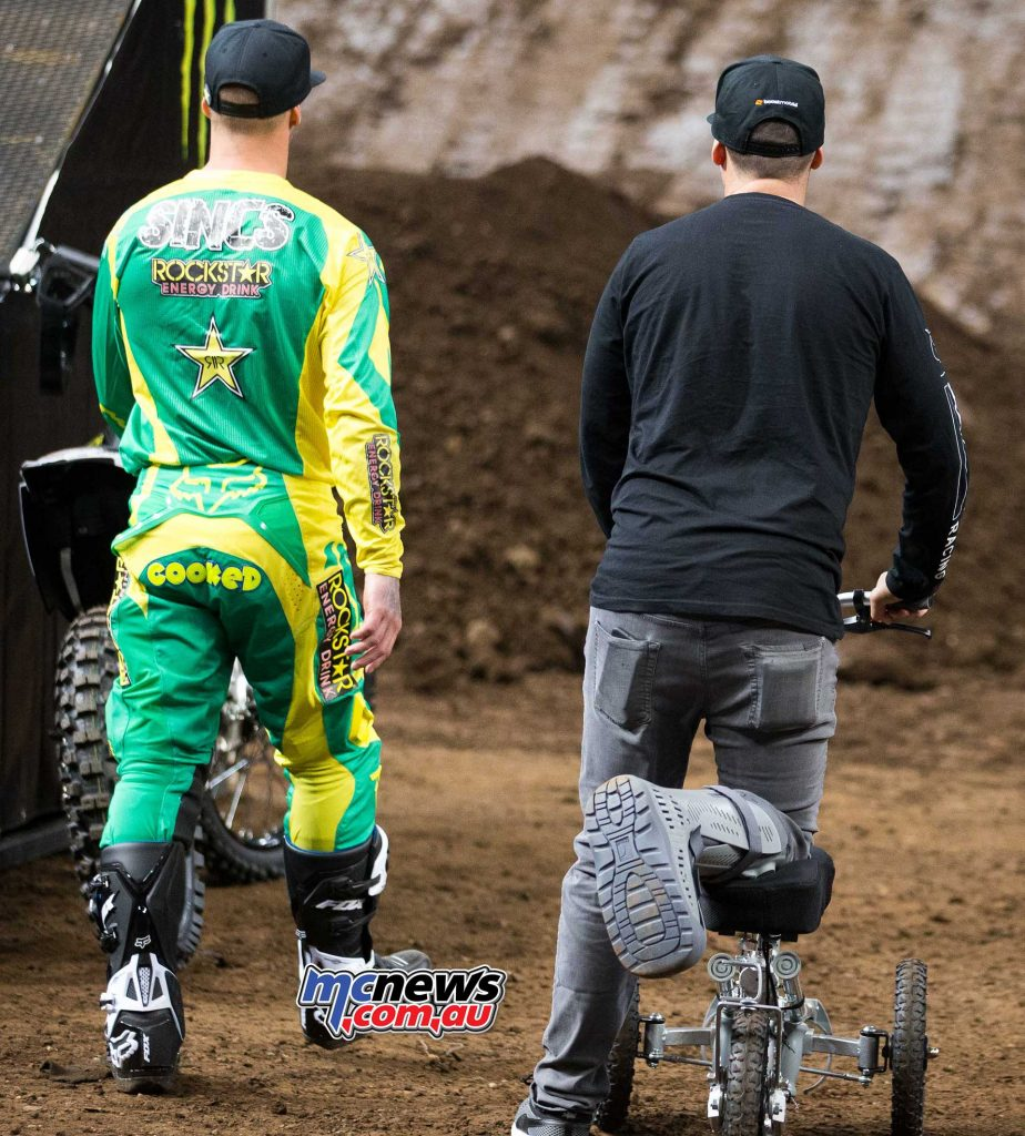 Chad Reed with Cam Sinclair