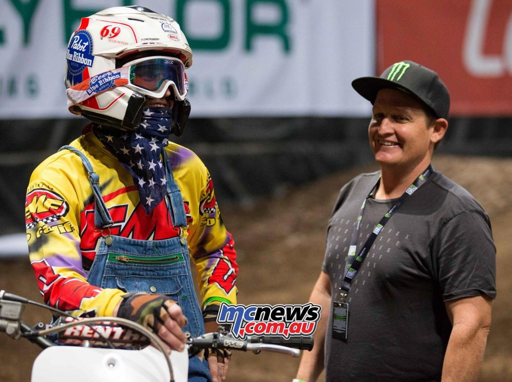 Ricky Carmichael to go head-to-head with Ronnie Mac