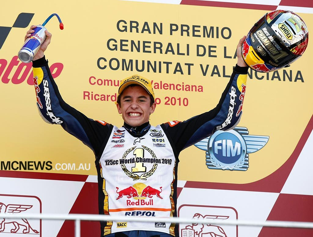 Marc Marquez - 2010 125cc World Champion - Image by AJRN