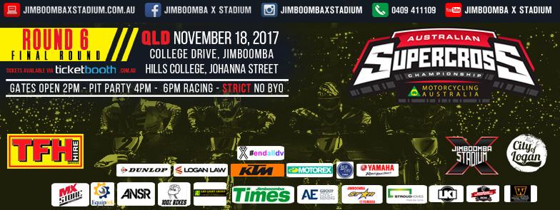 2017 ASX Round 6 heads to Jimboomba X-Stadium