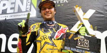 Jason Anderson the S1 victor on Sydney at AUS-X Open